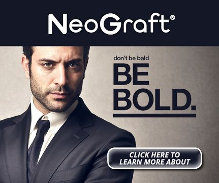Neograft image. Don't be bald, be bold. Westminster, Brighton, Broomfield, Boulder, Dermatology