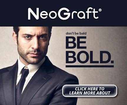 Neograft image. Don't be bald, be bold. Westminster, Brighton, Broomfield, Boulder, Dermatology