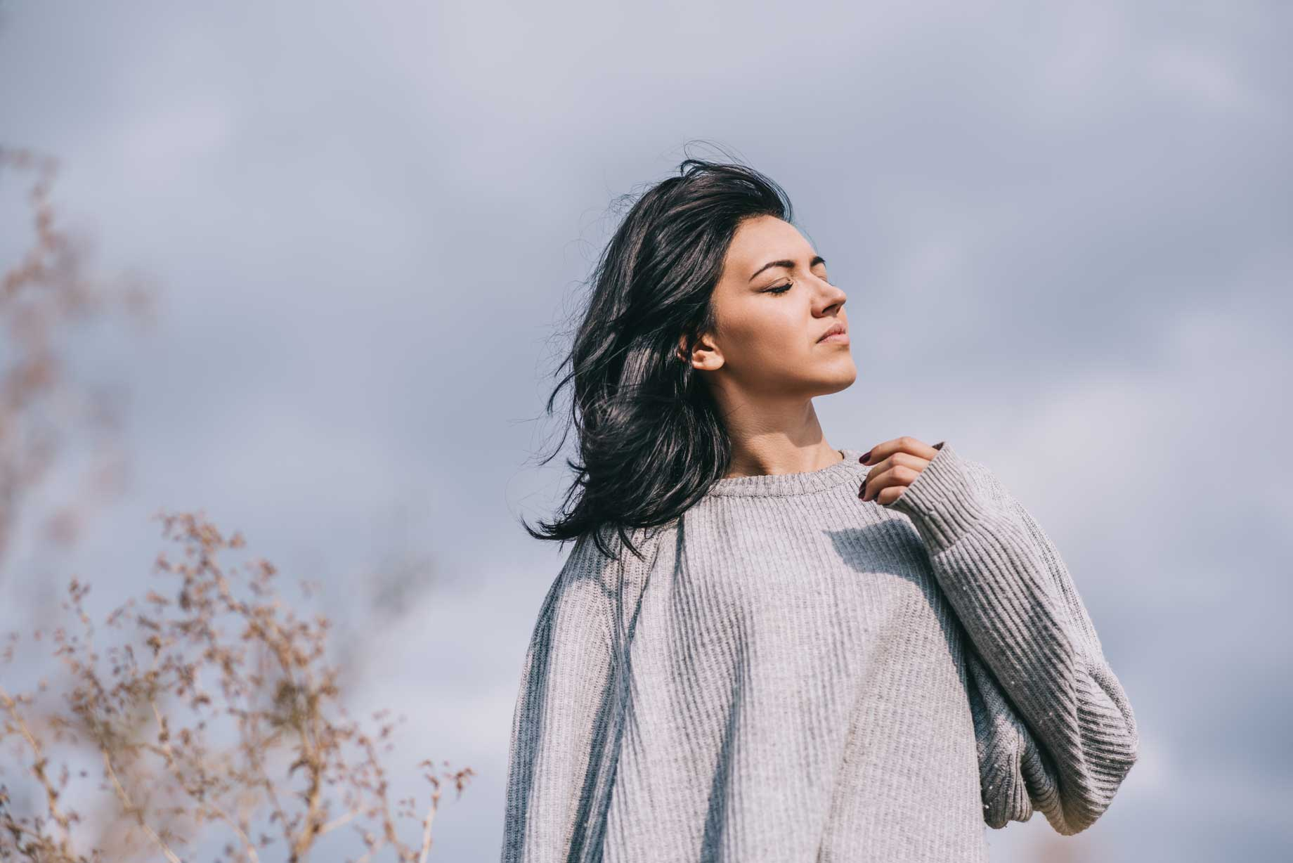 Women outside enjoying the wind | Chemical Peel Skin Health